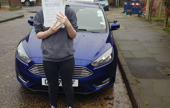 A huge congratulations to Francesca Anstee for passing her driving test today in sale first time. Fantastic drive well done enjoy driving your car and stay safe.
