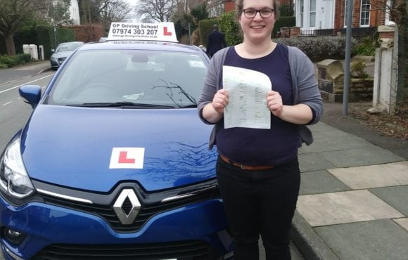 Congratulations to Nicola for passing her driving test on 14/3/2018 with trainee instructor Louise at sale test centre