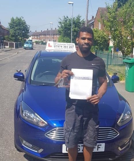 Congratulations to Errol for passing his practical driving test at Sale DTC this afternoon. Thank you for choosing GP Driving School it's been a pleasure to teach you.